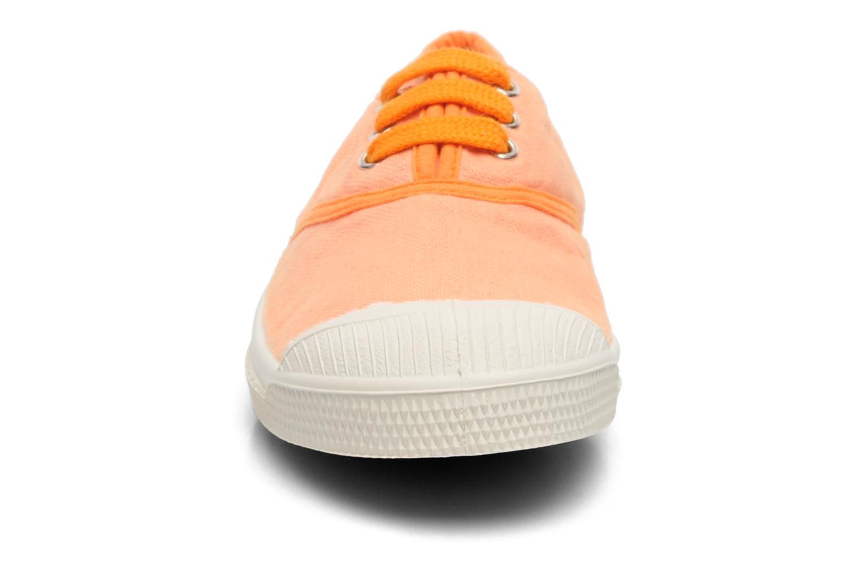 Baskets Bensimon Tennis Colorpiping 2 Orange vue portées chaussures