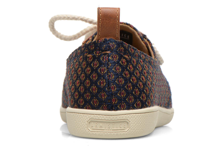 Baskets Armistice Stone One Versailles W Bleu vue droite
