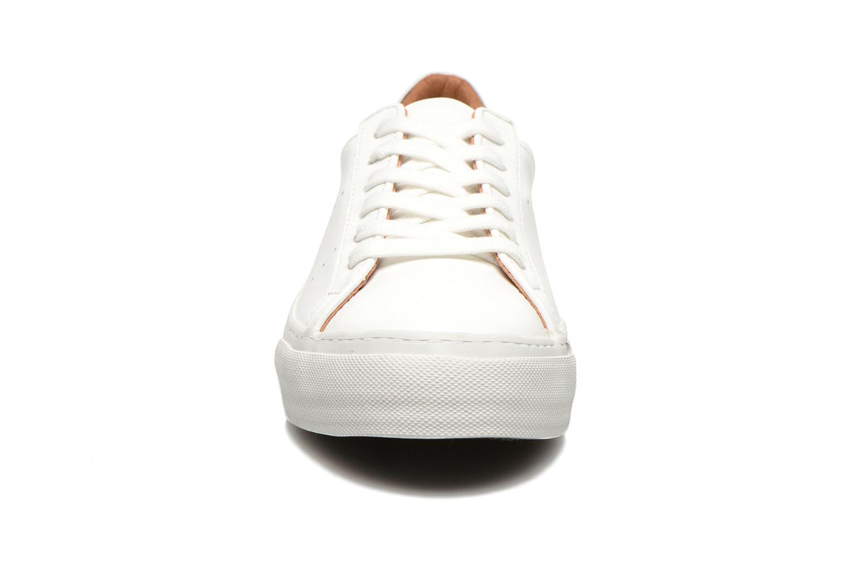 Baskets No Name Arcade Sneaker Altezza Leather Blanc vue portées chaussures