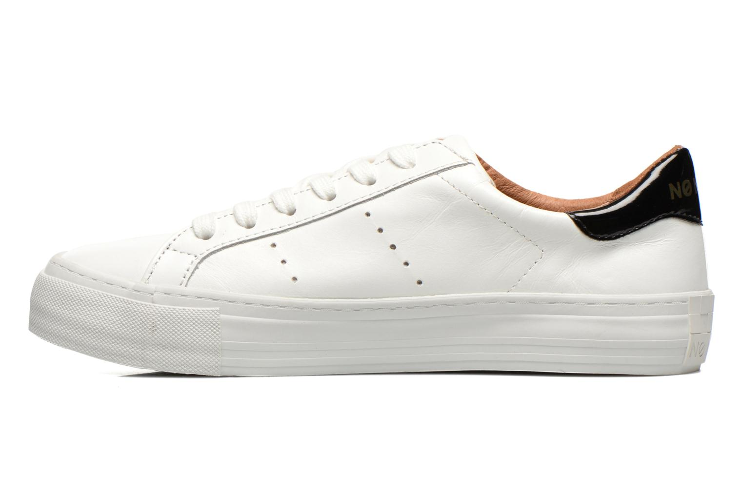 Baskets No Name Arcade Sneaker Altezza Leather Blanc vue face