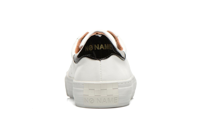 Baskets No Name Arcade Sneaker Altezza Leather Blanc vue droite