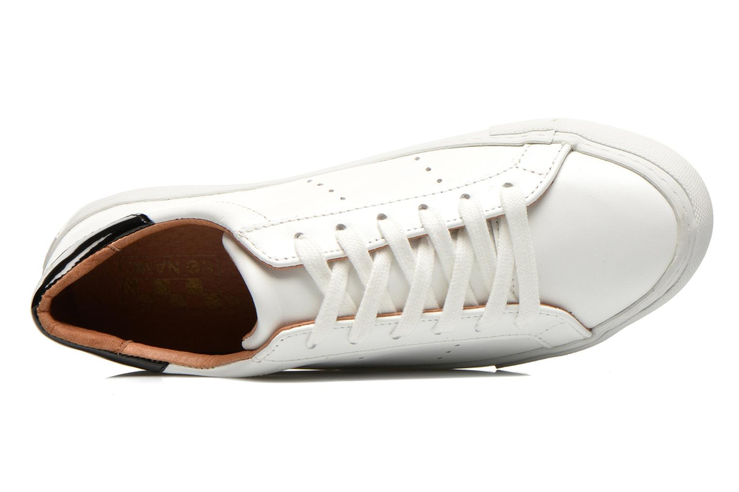 Sneakers No Name Arcade Sneaker Altezza Leather Bianco immagine sinistra