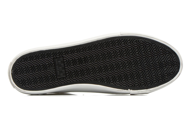 Baskets No Name Arcade Sneaker Altezza Leather Blanc vue haut