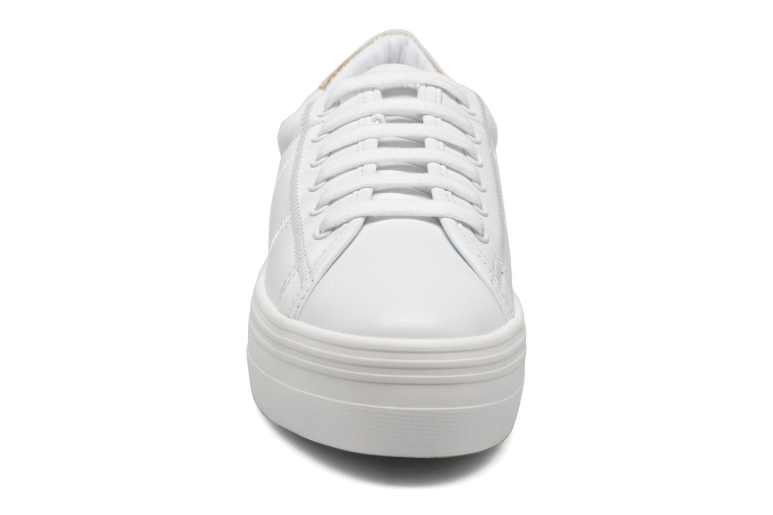 Baskets No Name Plato Sneaker Nappa Blanc vue portées chaussures