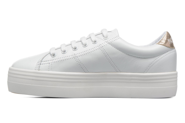 Plato Sneaker Nappa WHITE/GOLD # FOX WHITE