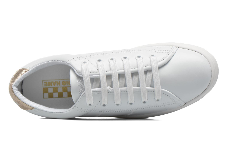 Baskets No Name Plato Sneaker Nappa Blanc vue gauche