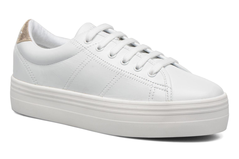 Baskets No Name Plato Sneaker Nappa Blanc vue détail/paire
