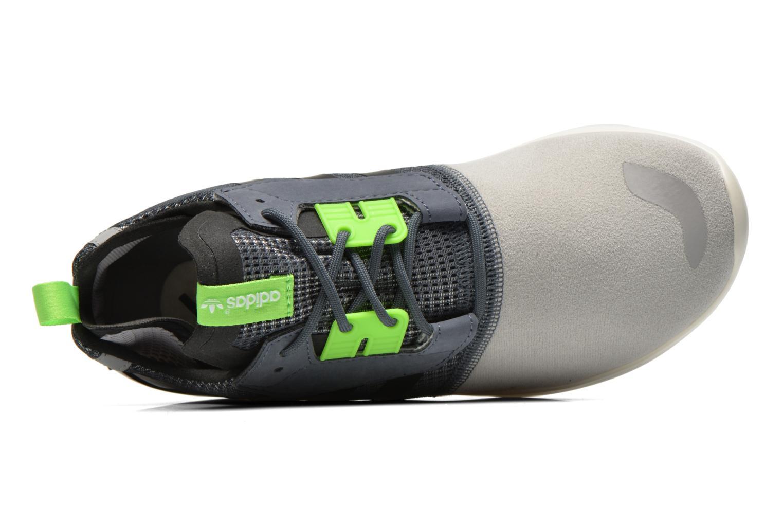 Baskets Adidas Originals Veritas Mid Gris vue gauche