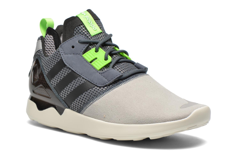Baskets Adidas Originals Veritas Mid Gris vue détail/paire