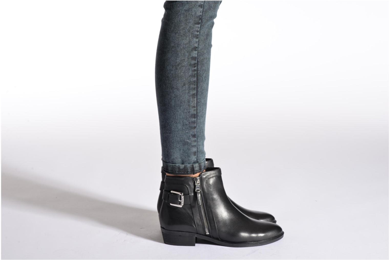 Bottines et boots Lauren by Ralph Lauren Shelli Noir vue bas / vue portée sac