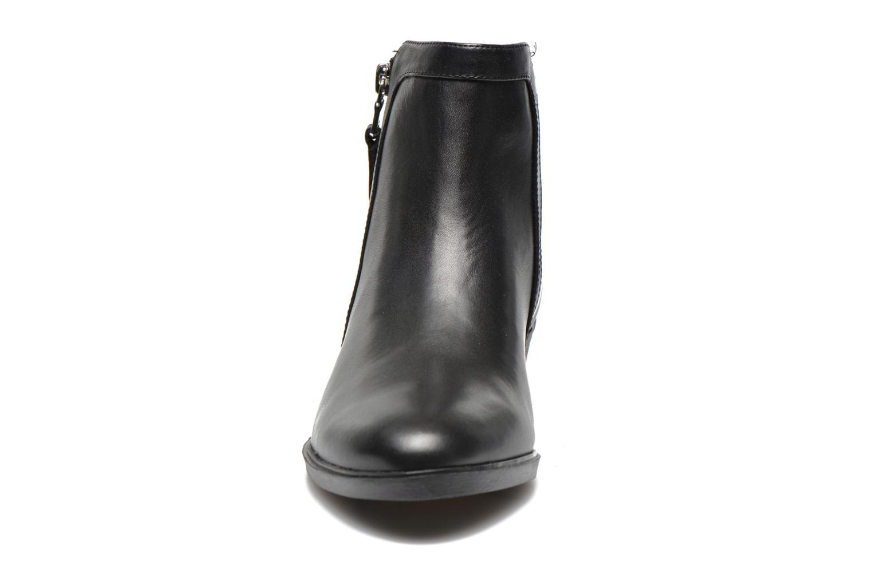 Bottines et boots Lauren by Ralph Lauren Shelli Noir vue portées chaussures