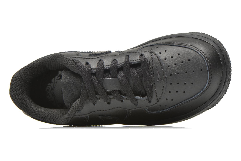 Baskets Nike Air Force 1 (Ps) Noir vue gauche