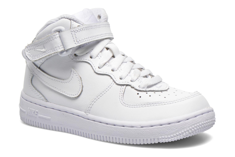 Sneaker Nike Air Force 1 Mid (PS) weiß detaillierte ansicht/modell