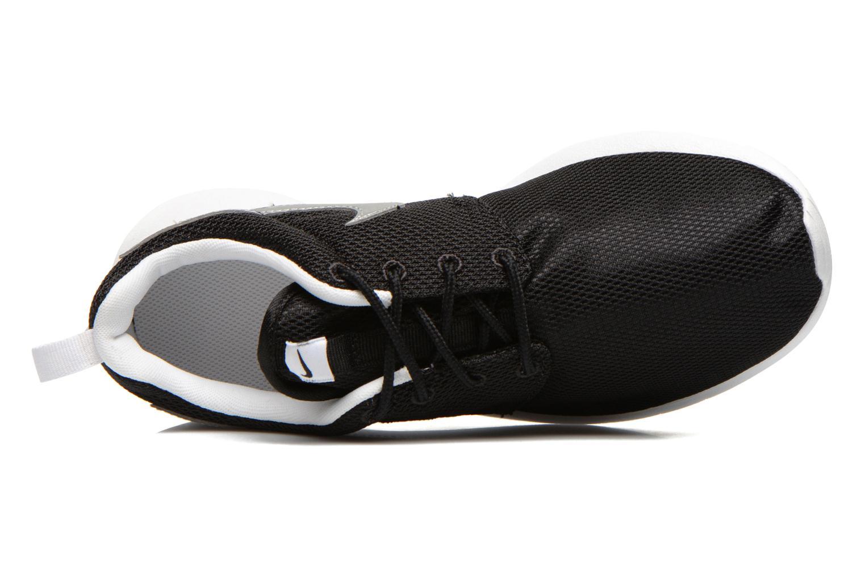 NIKE ROSHE ONE (GS) Black/Mtllc Silver-White-White