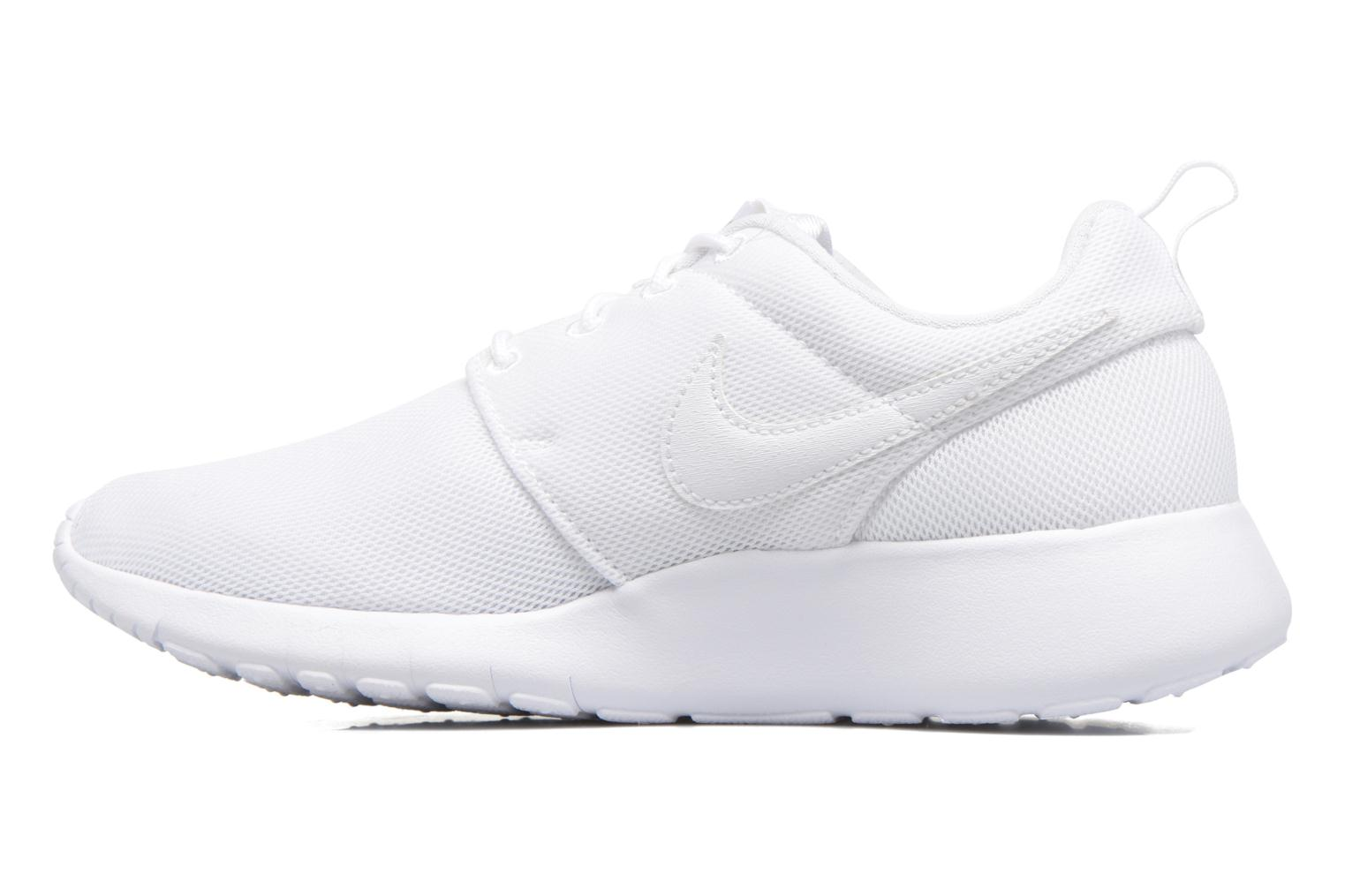 Baskets Nike NIKE ROSHE ONE (GS) Blanc vue face