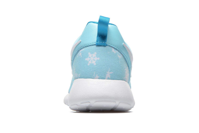 NIKE ROSHE ONE PRINT (GS) Copa/White-Blue Lagoon