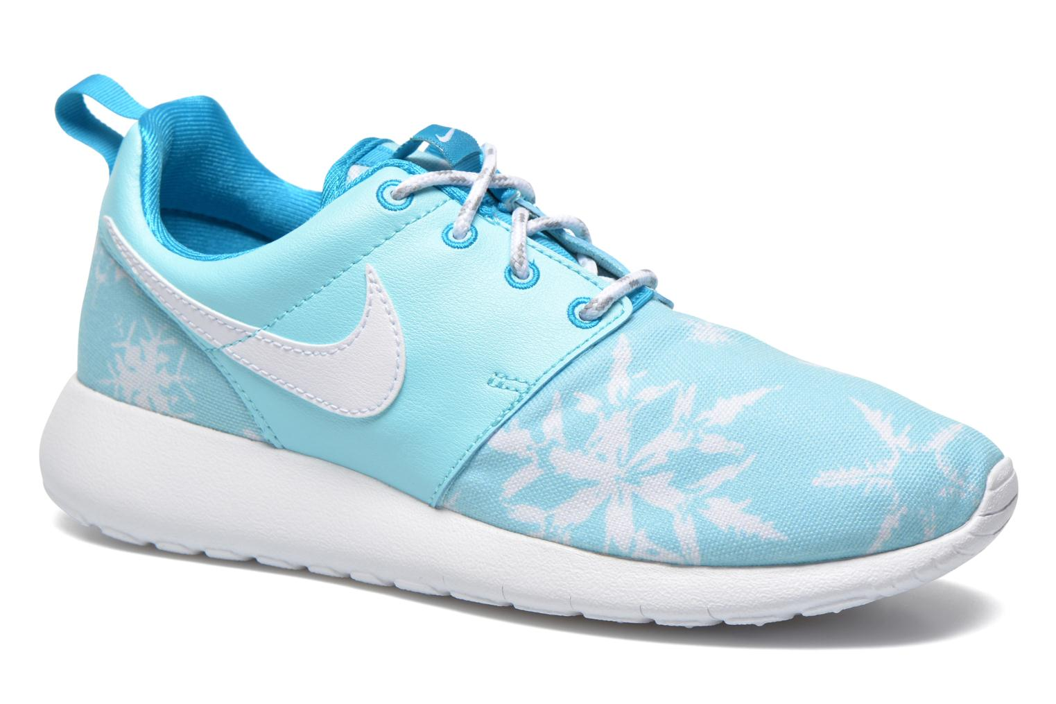 NIKE ROSHE ONE PRINT (GS) Copa/White-Blue Lagoon