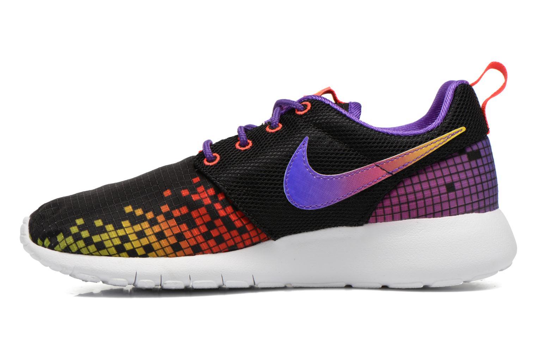 Sneakers Nike NIKE ROSHE ONE PRINT (GS) Zwart voorkant