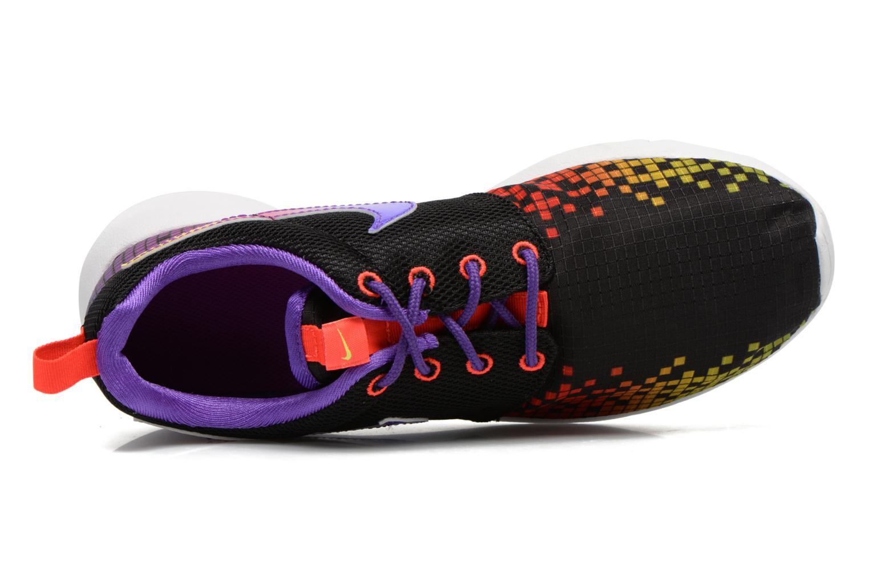 Black/Wolf Grey-Gym Red-White Nike NIKE ROSHE ONE PRINT (GS) (Noir)