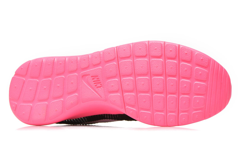 Baskets Nike ROSHE ONE FLIGHT WEIGHT (GS) Noir vue haut