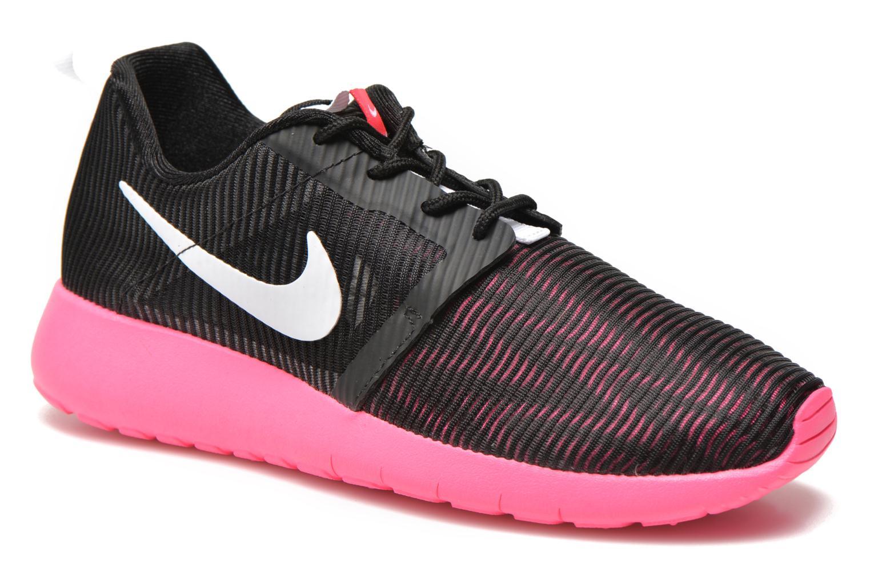 Baskets Nike ROSHE ONE FLIGHT WEIGHT (GS) Noir vue détail/paire