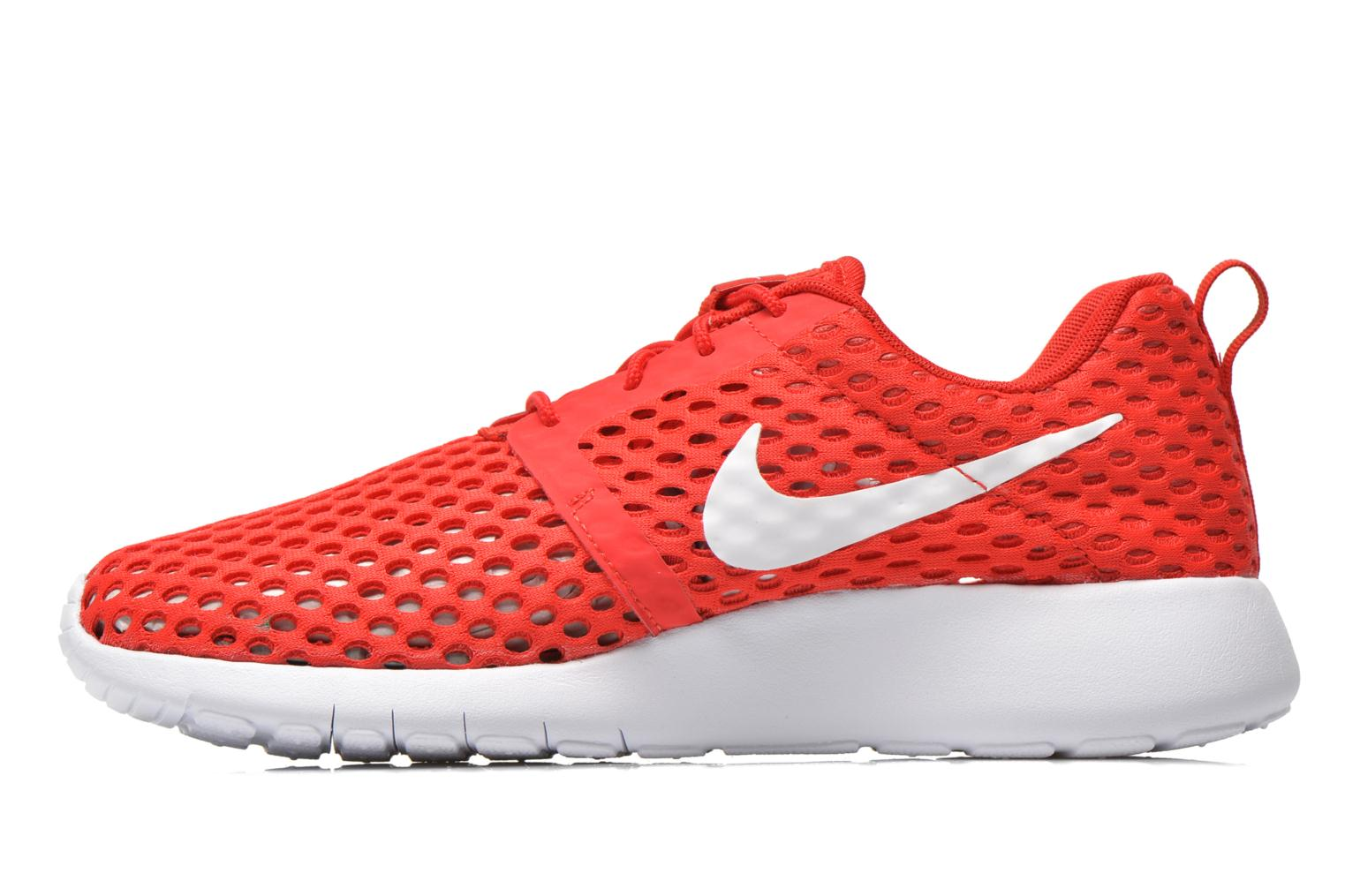 Trainers Nike ROSHE ONE FLIGHT WEIGHT (GS) Red front view
