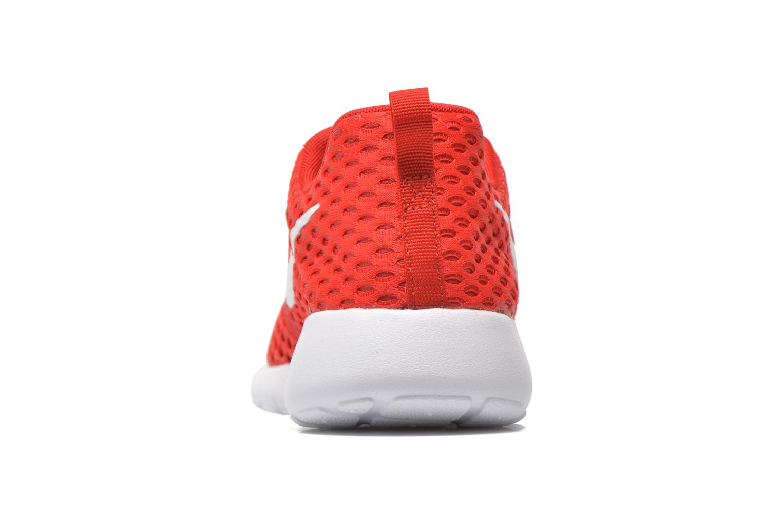 Trainers Nike ROSHE ONE FLIGHT WEIGHT (GS) Red view from the right