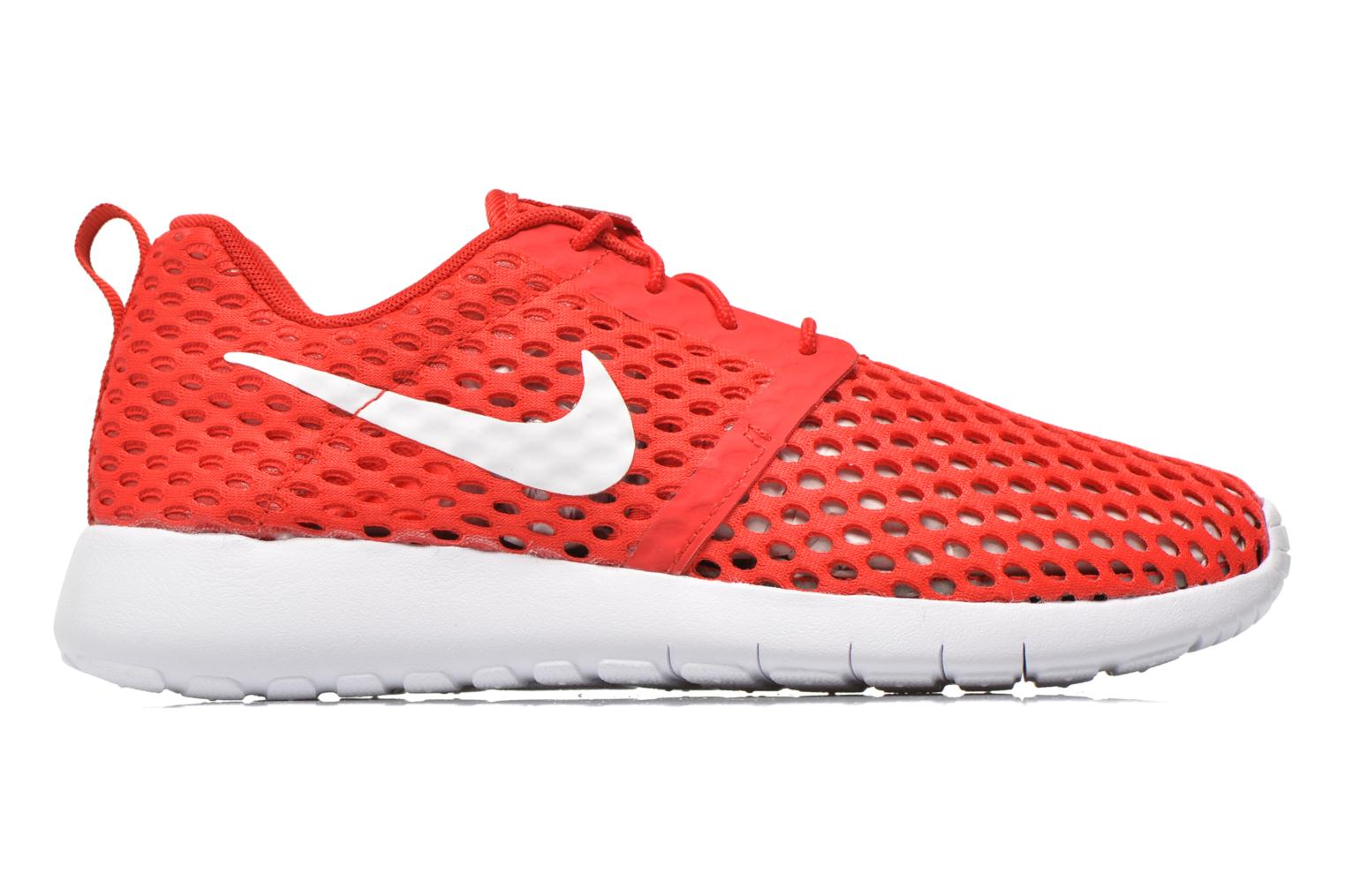 Trainers Nike ROSHE ONE FLIGHT WEIGHT (GS) Red back view