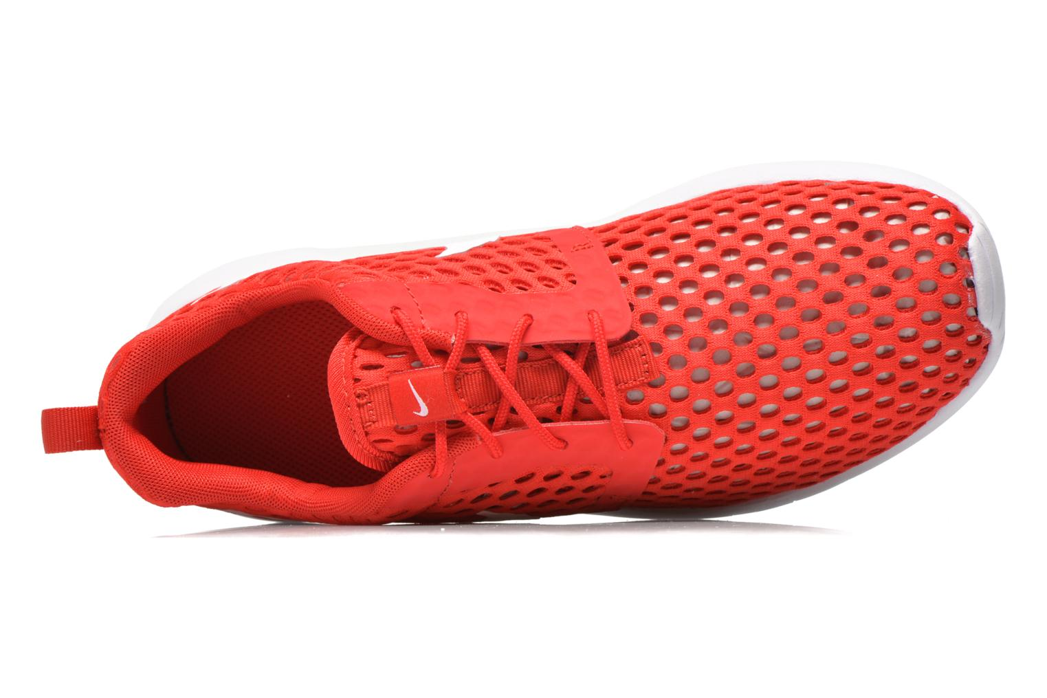 Trainers Nike ROSHE ONE FLIGHT WEIGHT (GS) Red view from the left