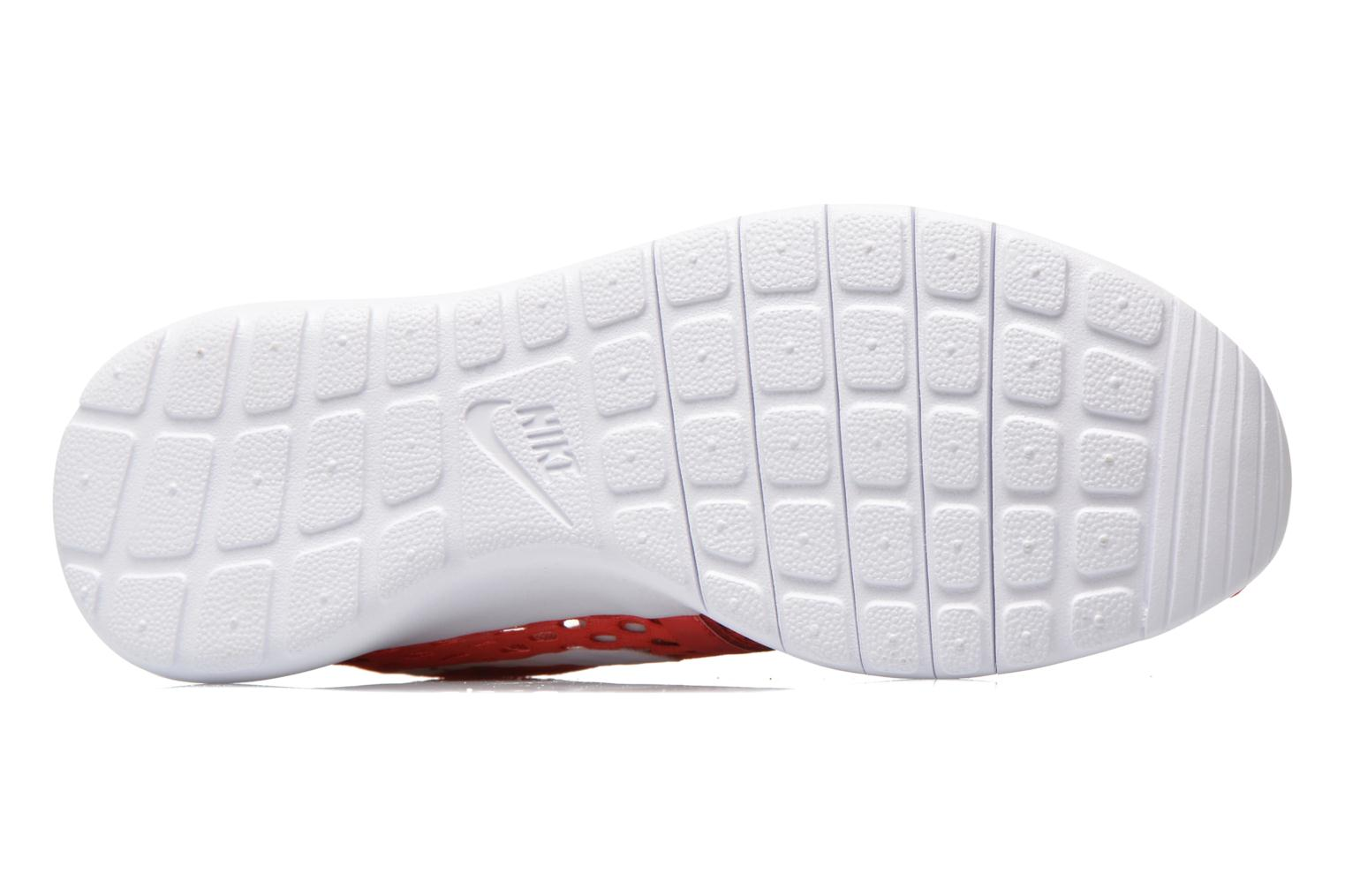 Trainers Nike ROSHE ONE FLIGHT WEIGHT (GS) Red view from above