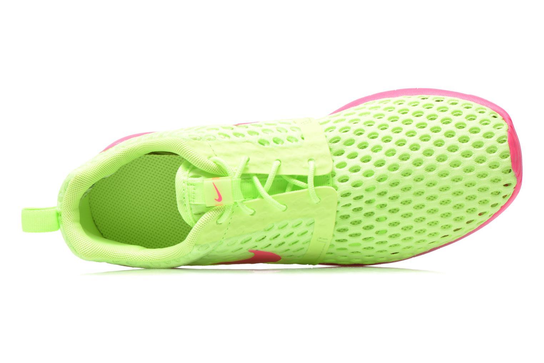 Baskets Nike ROSHE ONE FLIGHT WEIGHT (GS) Vert vue gauche