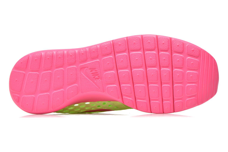 Baskets Nike ROSHE ONE FLIGHT WEIGHT (GS) Vert vue haut