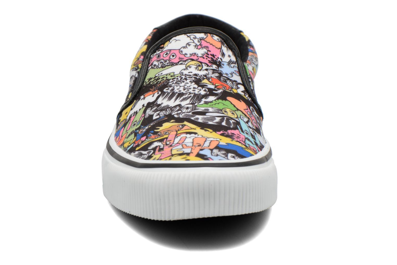 Baskets Kenzo Velvet Multicolore vue portées chaussures