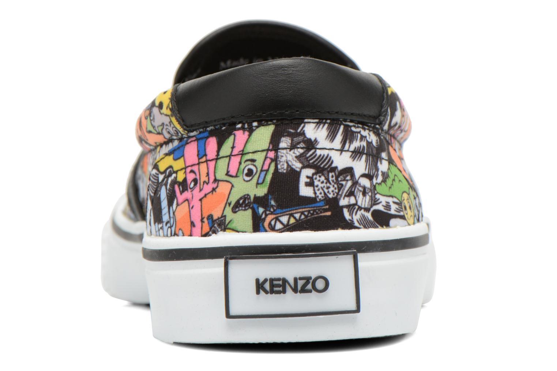 Baskets Kenzo Velvet Multicolore vue droite