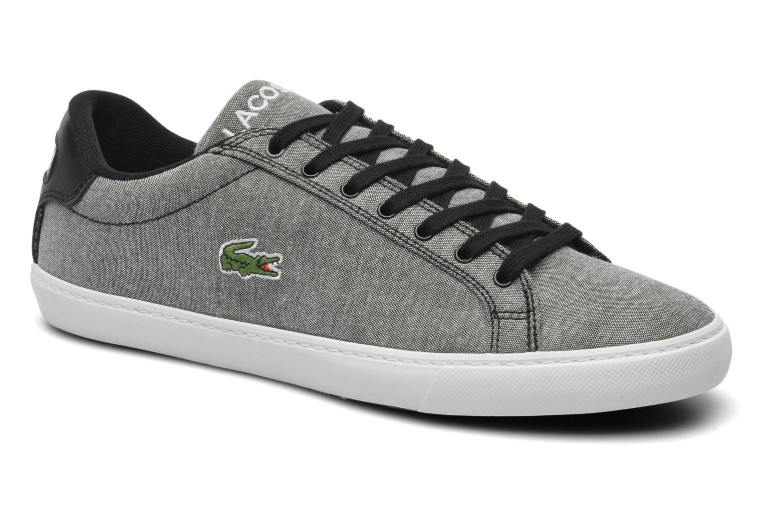 Trainers Lacoste Grad Vulc Ce Grey detailed view/ Pair view