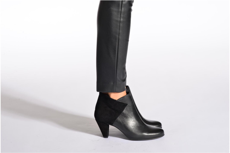 Bottines et boots Georgia Rose Loupet Bleu vue bas / vue portée sac