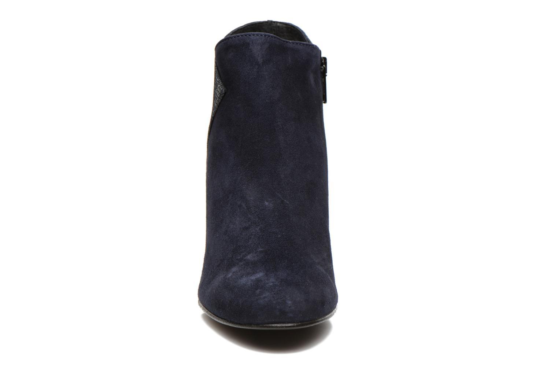 Bottines et boots Georgia Rose Loupet Bleu vue portées chaussures