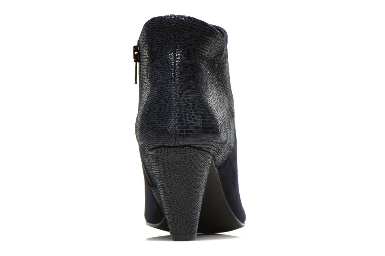 Bottines et boots Georgia Rose Loupet Bleu vue droite