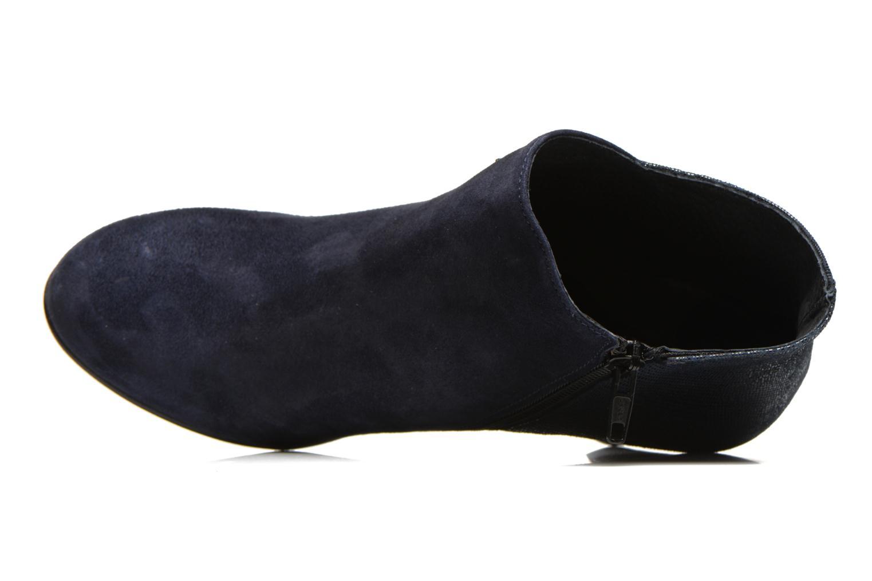 Bottines et boots Georgia Rose Loupet Bleu vue gauche