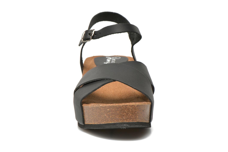 Sandales et nu-pieds I Love Shoes Climatte Noir vue portées chaussures
