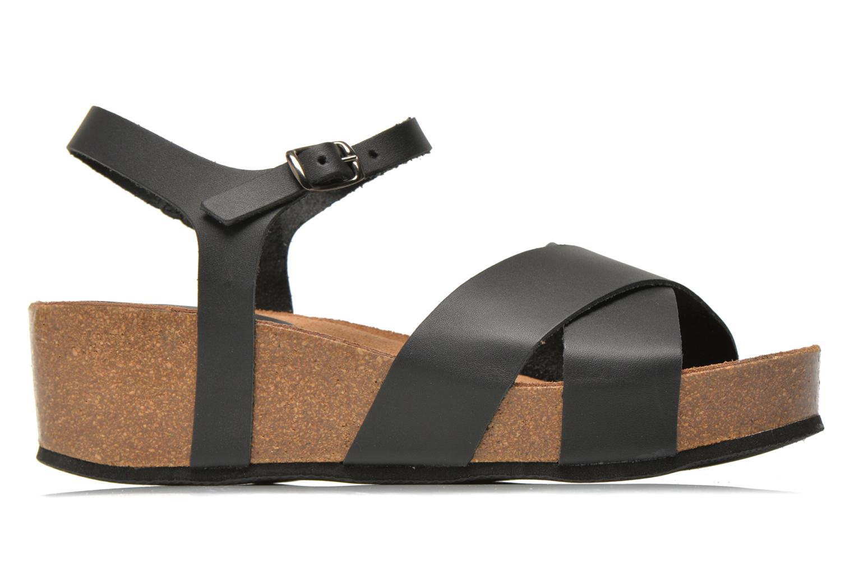 Sandales et nu-pieds I Love Shoes Climatte Noir vue derrière
