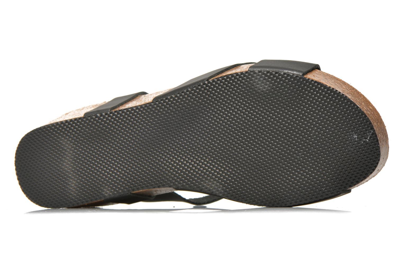 Sandales et nu-pieds I Love Shoes Climatte Noir vue haut