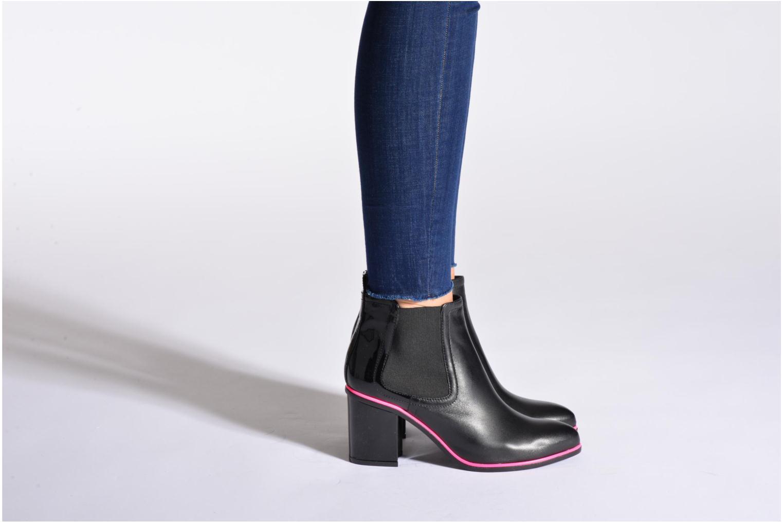 Stiefeletten & Boots Sonia Rykiel Sonia by Pink Pimping schwarz ansicht von unten / tasche getragen