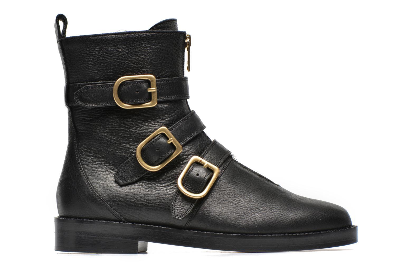 Bottines et boots Sonia Rykiel Biker Buckel Noir vue derrière