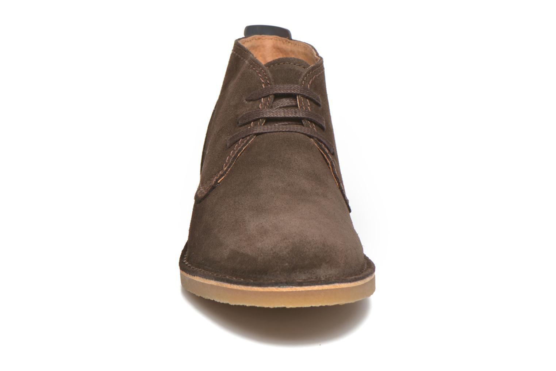 Chaussures à lacets Selected Homme Royce Warm Marron vue portées chaussures