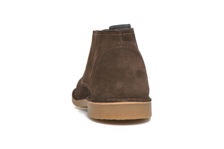 Chaussures à lacets Selected Homme Royce Warm Marron vue droite