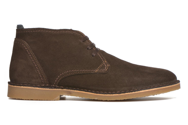Chaussures à lacets Selected Homme Royce Warm Marron vue derrière