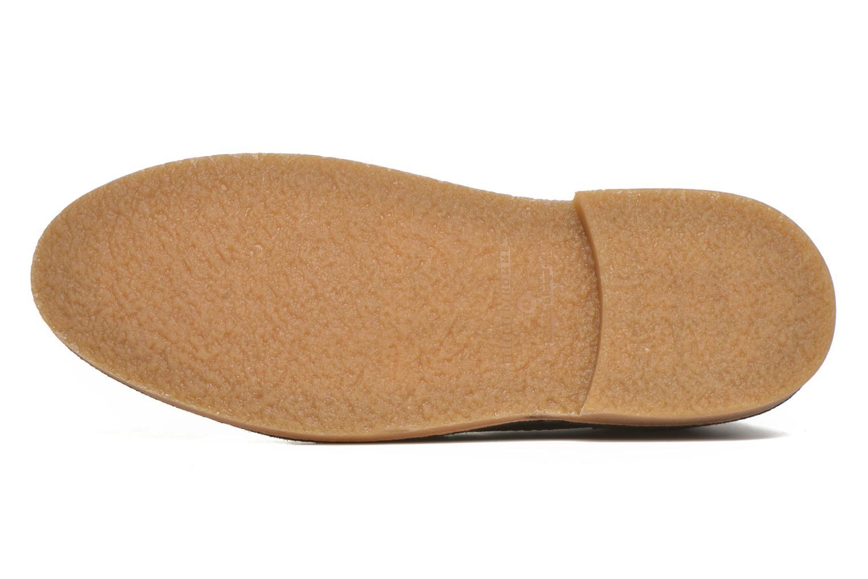 Chaussures à lacets Selected Homme Royce Warm Marron vue haut
