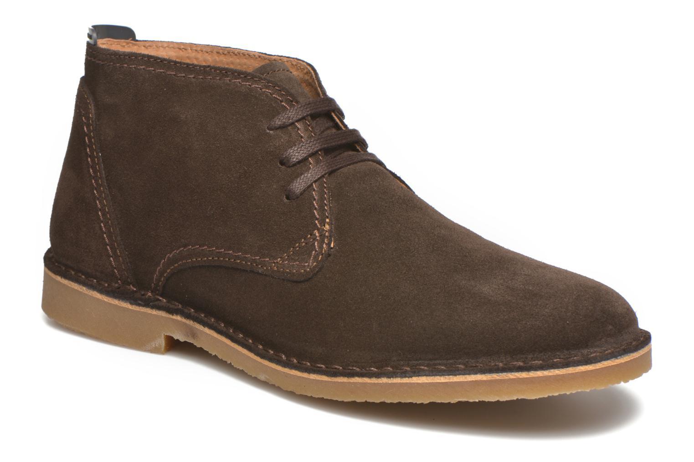 Chaussures à lacets Selected Homme Royce Warm Marron vue détail/paire