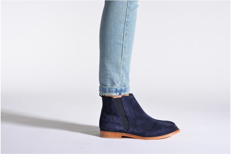 Bottines et boots Anaki Igor Bleu vue bas / vue portée sac